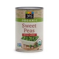 365 Organic No Salt Added Sweet Peas