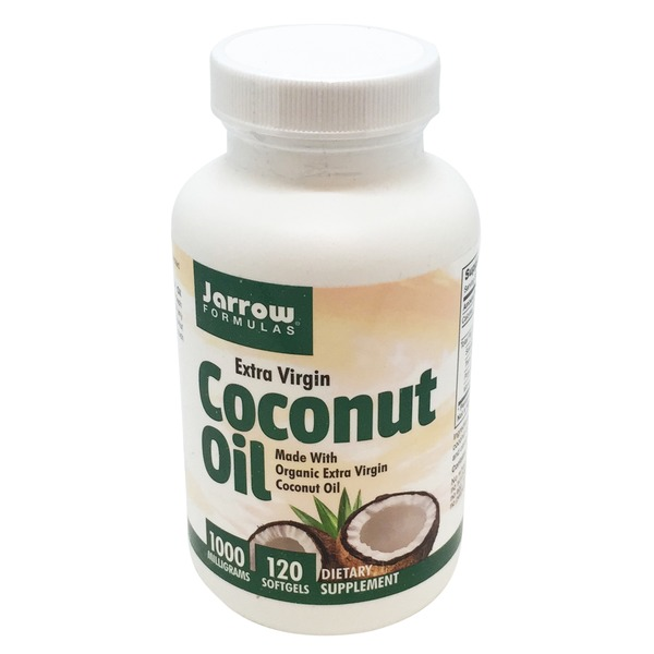Jarrow Formulas Extra Virgin Coconut Oil 1000mg