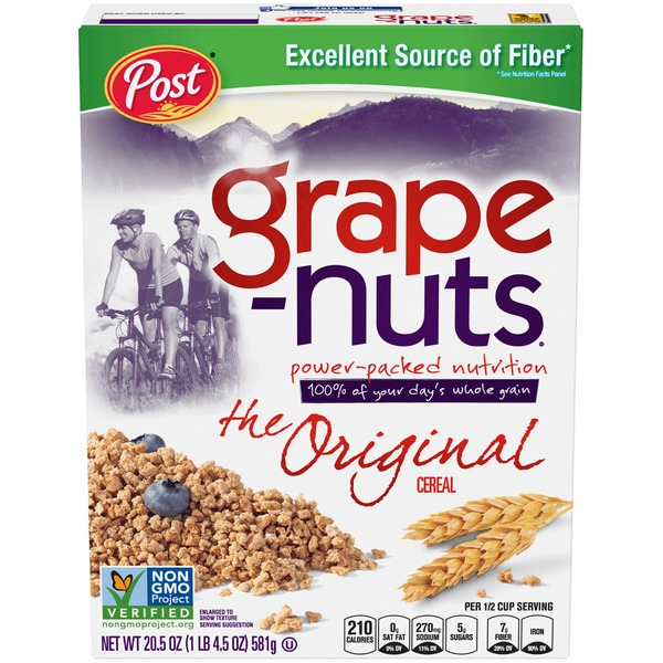 Post Grape Nuts Non-GMO Original Cereal