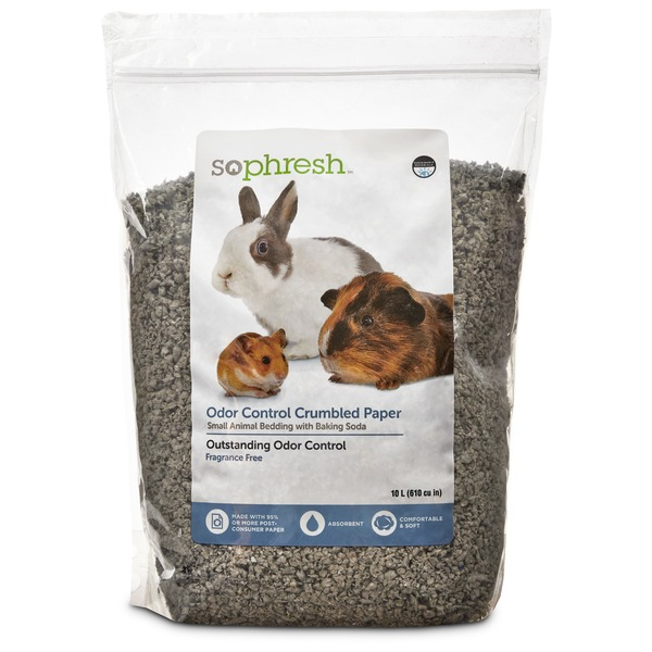 So Phresh Odor Control Crumbled Paper Small Animal Bedding with Baking Soda