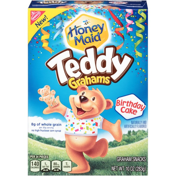 Nabisco Teddy Grahams Birthday Cake Graham Snacks