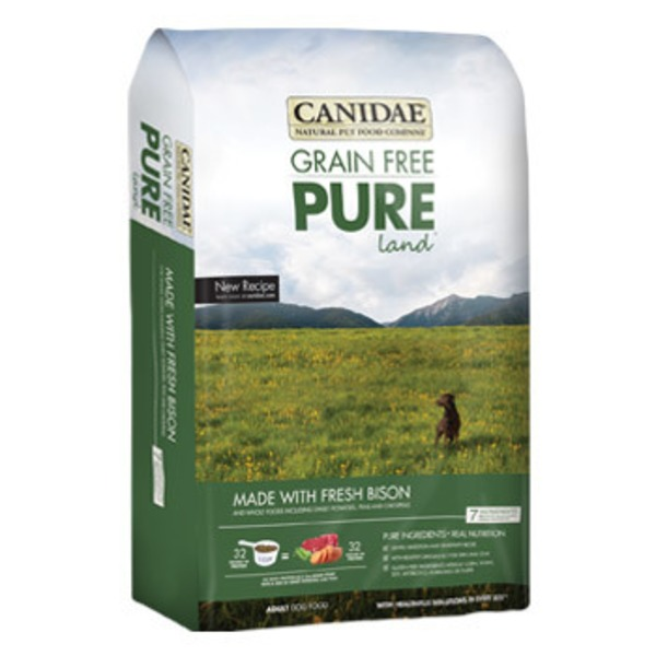 Canidae Grain Free Pure Land Adult Dog Food 4 Lbs.