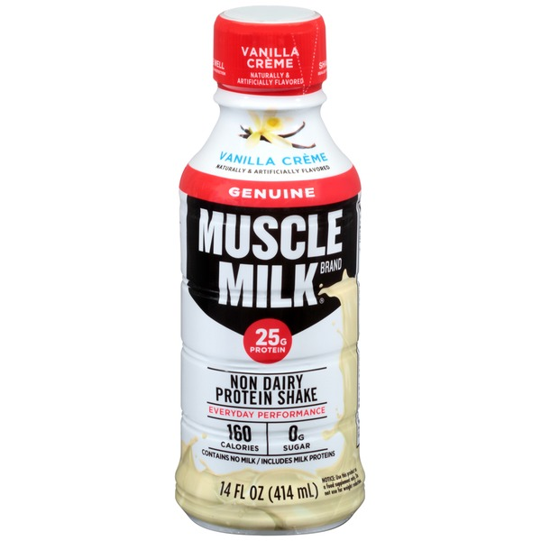 CytoSport Muscle Milk Vanilla Creme Nutritional Shake, 14 Oz Bottles