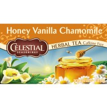 Celestial Seasonings Herbal Tea, Honey Vanilla Chamomile, Tea Bags, 20 Ct