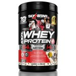 Six Star Elite Series Whey Protein Powder 39 grams of Protein Cookies & Cream, 2 lb.