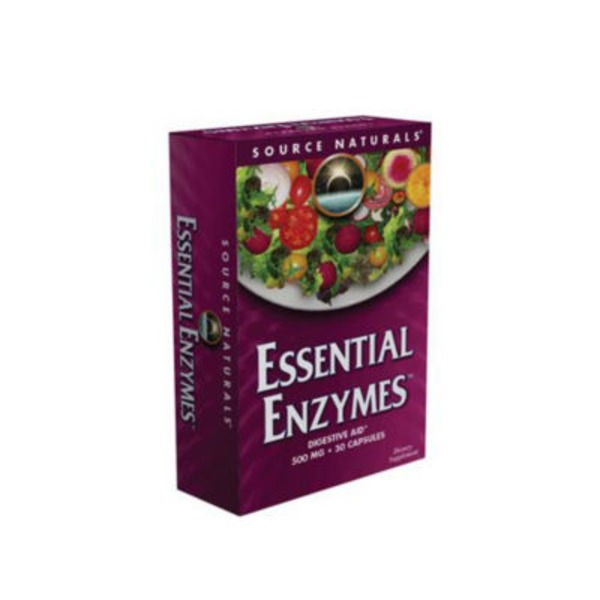 Source Naturals Essential Enzymes Capsules