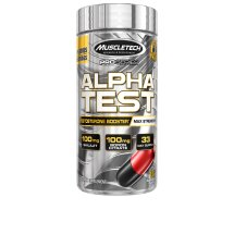 MuscleTech Alpha Test Max-Strength Test Booster Capsules, 120 Ct