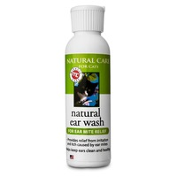 Natural Care for Cats Natural Ear Wash for Ear Mite Relief