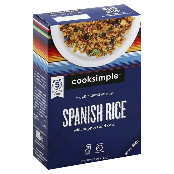 Cooksimple Spanish Rice, with Peppers and Corn