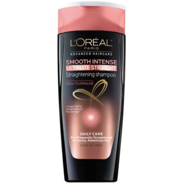 Advanced Haircare Frequently Straighten, Unruly, Rebellious Hair Smooth Intense Ultimate Straight Shampoo Family Size