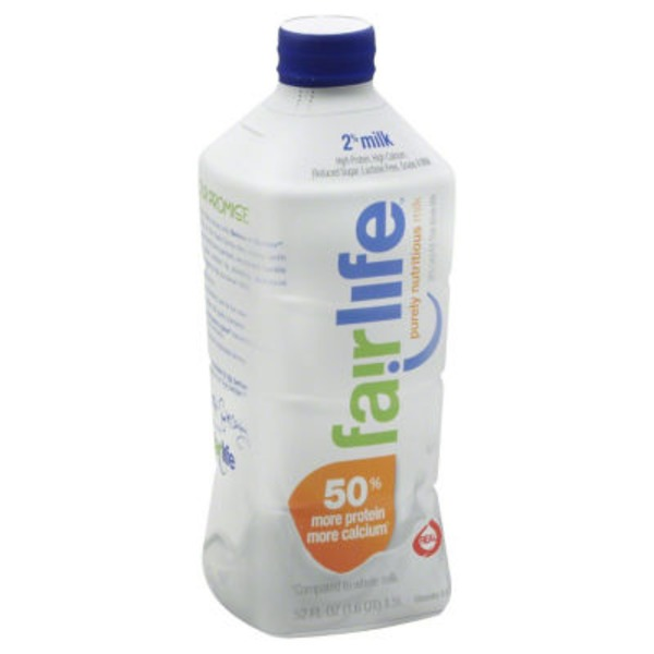 Fairlife 2% Reduced Fat Ultra-Filtered Milk