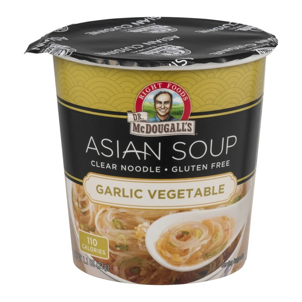 Dr. McDougall's Asian Soup Garlic Vegetable