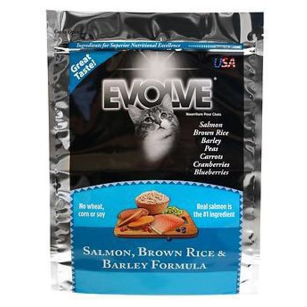 Evolve Salmon Rice Barley Dry Cat Food