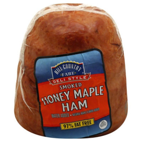 Hill Country Fare Deli Style Smoked Honey Maple Ham