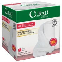 Curad Stretch Rolled Gauze - 5 CT