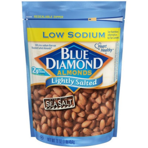 Blue Diamond Almonds Lightly Salted Almonds