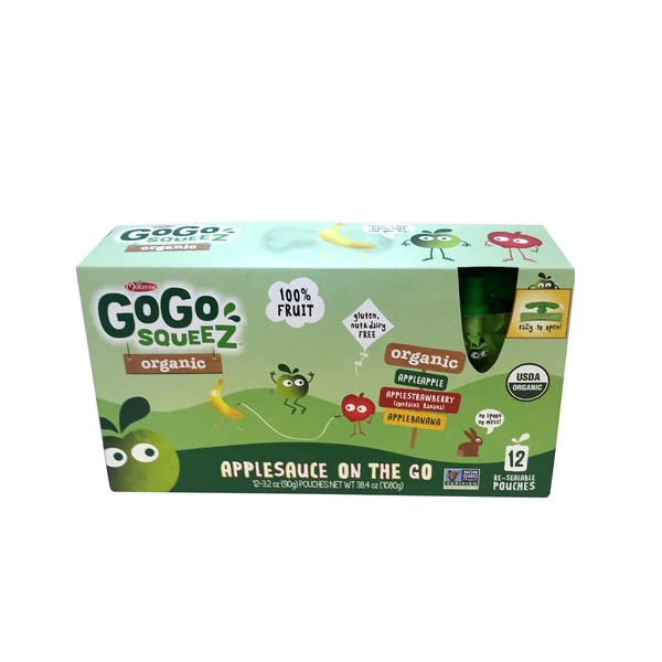 Materne Gogo Squeez Applesauce On The Go