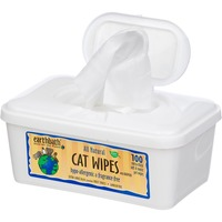 Earthbath All Natural Hypo Allergenic And Fragrance Free Cat Wipes 100 ct.