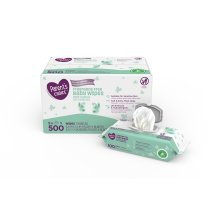 Parent's Choice Fragrance Free Baby Wipes, 5 packs of 100 (500 ct)