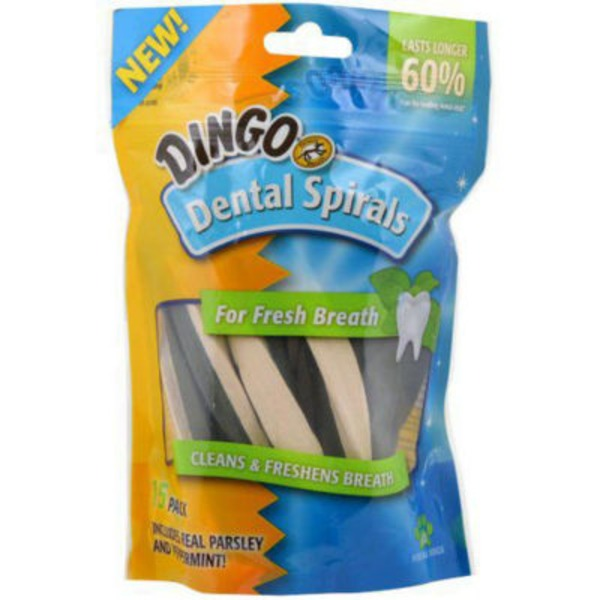 Dingo Dental Spirals for All Dogs