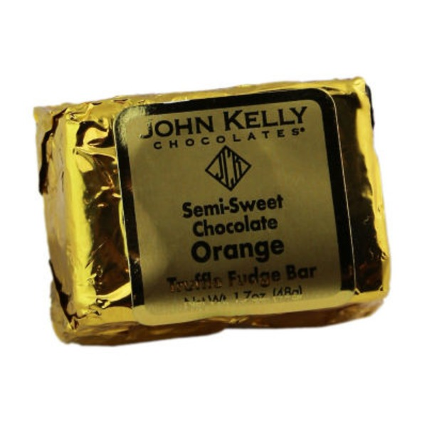 John Kelly Chocolates Truffle Fudge Orange Without Nuts
