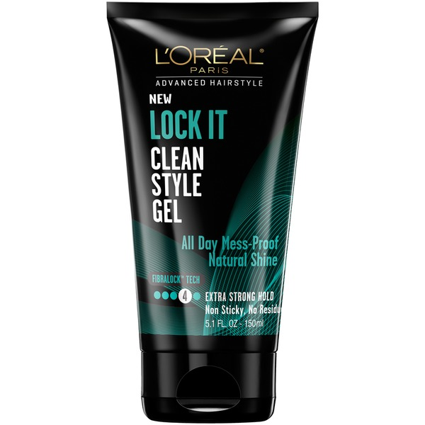 Advanced Hairstyle Lock It Clean Style Gel