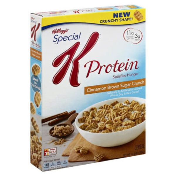 Kellogg's Special K Protein Cinnamon Brown Sugar Crunch Cereal