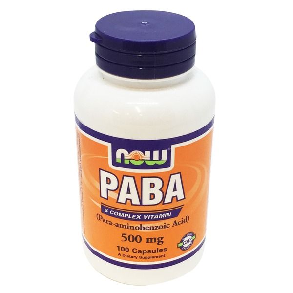 Now Paba 500 Mg Capsules