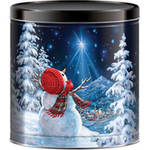 Signature Brands Starlight Snowman Popcorn Tin