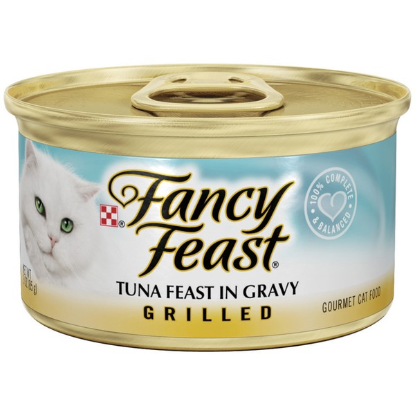 Fancy Feast Wet Grilled Tuna Feast in Gravy Cat Food