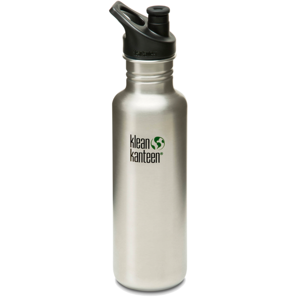 Klean Kanteen Stainless Bottle with Sport Cap, 27 oz.