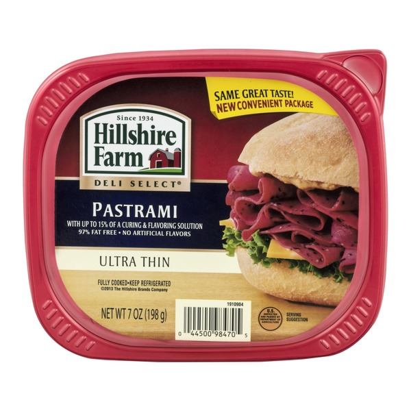 Hillshire Farm Deli Select Pastrami Ultra Thin