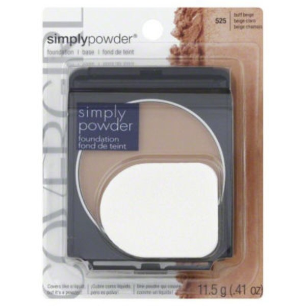 CoverGirl Clean Powder Foundation COVERGIRL Clean Powder Foundation Buff Beige .41 oz. Female Cosmetics