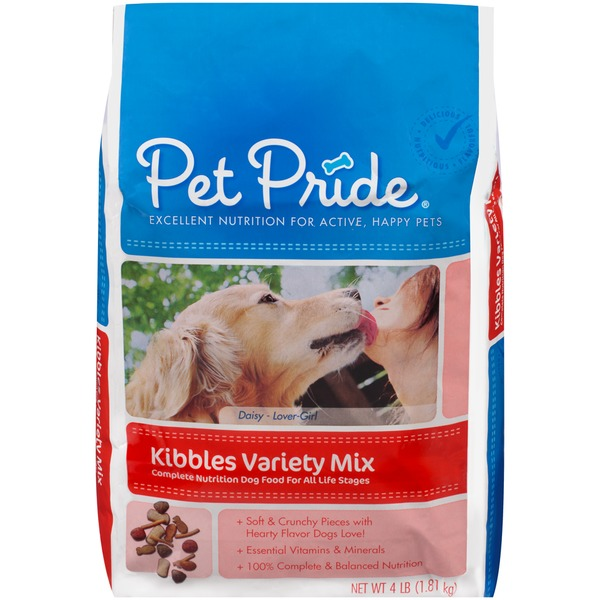 Petes Pride Kibbles Variety Mix Dog Food
