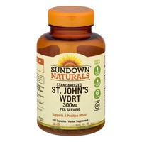 Sundown Naturals Standardized St. John's Wort - 150 CT