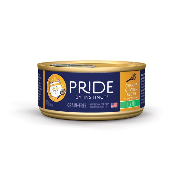 Nature's Variety Pride By Instinct Grain Free Flaked Champ's Chicken Canned Cat Food Case