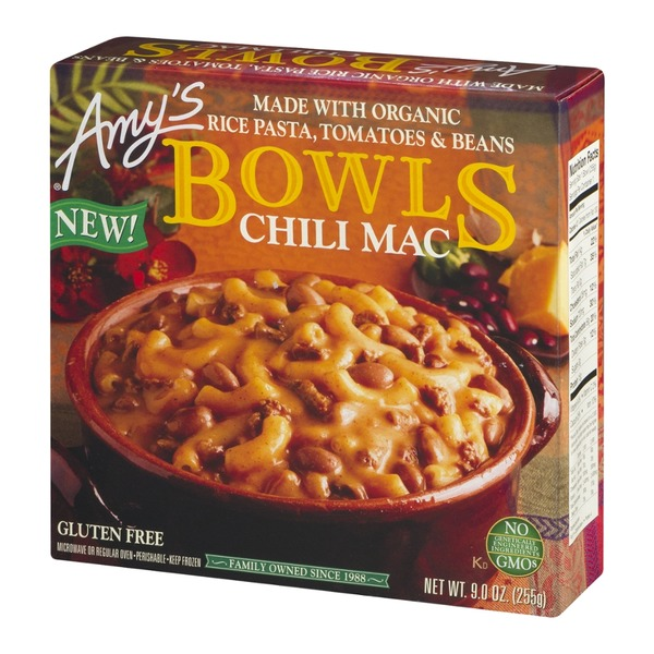 Amy's Bowls Chili Mac