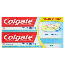 Colgate Total Whitening Gel Toothpaste Twin Pack - 12 oz