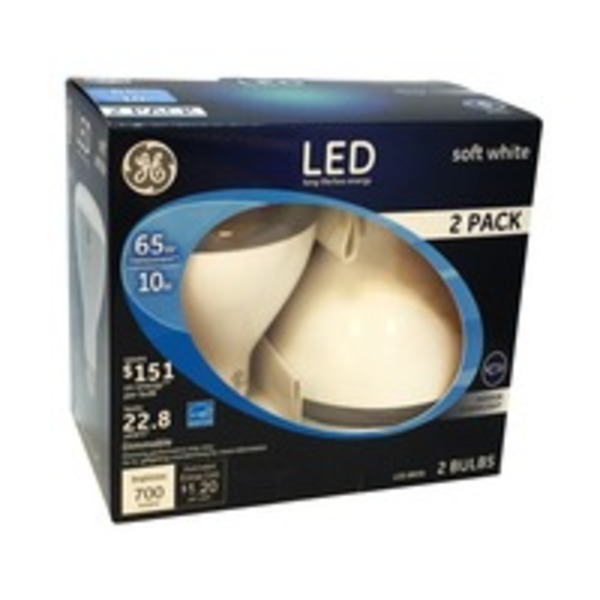 General Electric LED 65-Watt BR30 Light Bulb Soft White