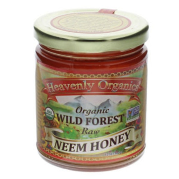 Heavenly Organics Wild Forest Raw Neem Honey