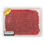 Beef Extra Thin Cut Top Round for Milanesa, 1.6-2.1 lbs.