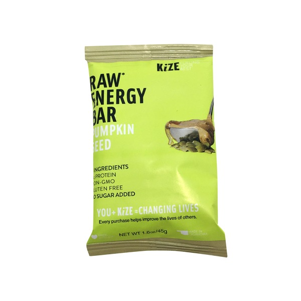 Kize Pumpkin Seed Raw Energy Bar