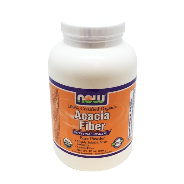 Now Acacia Fiber Organic Powder