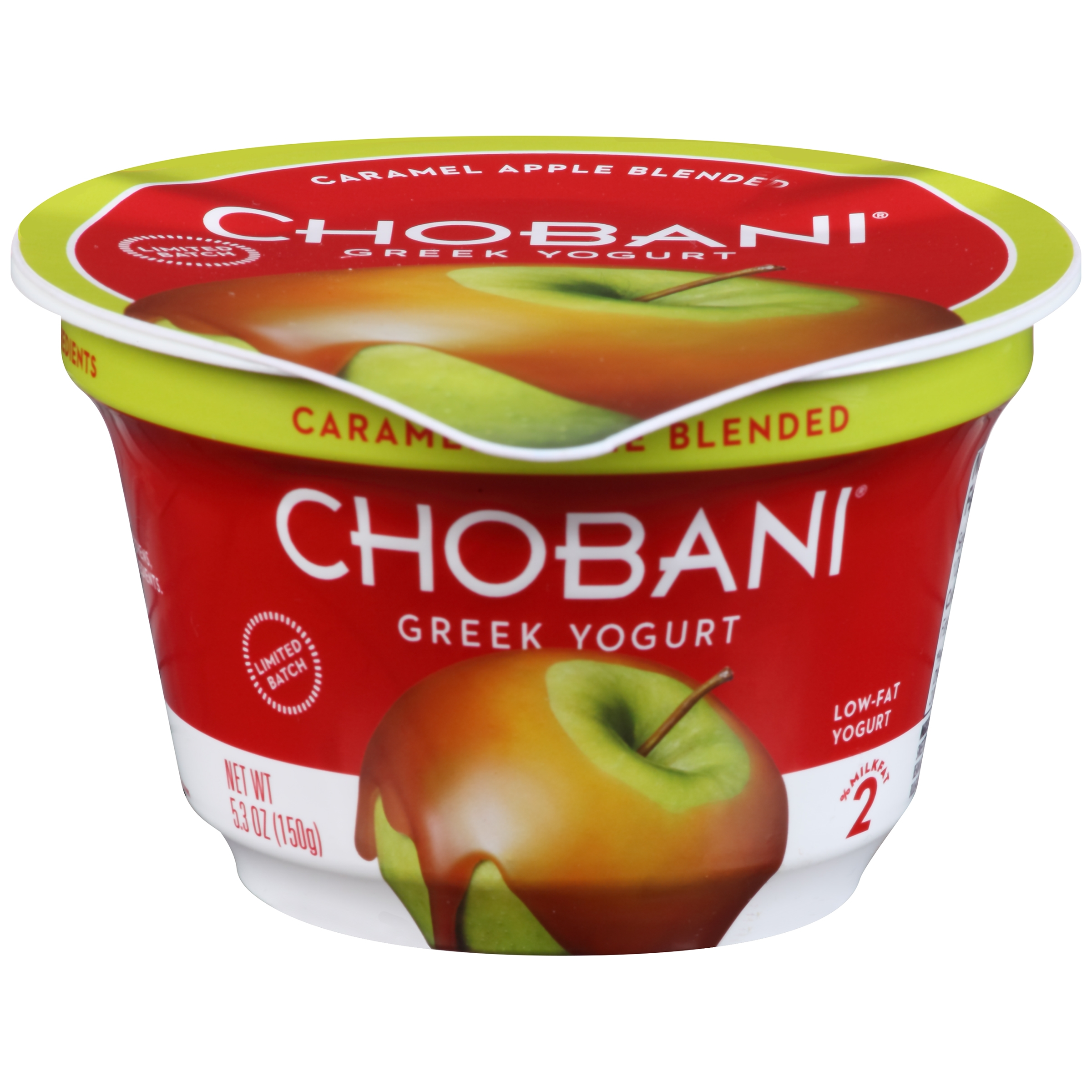 Chobani Caramel Apple Blended Low-Fat Greek Yogurt
