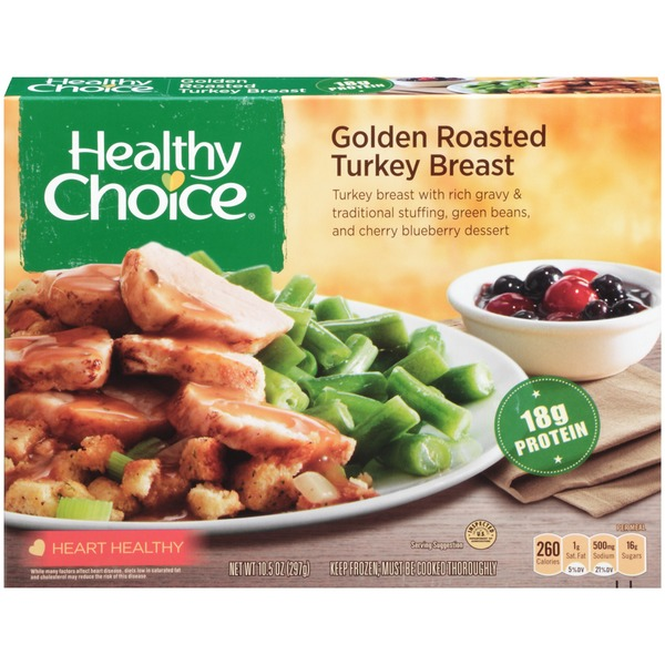 Healthy Choice Golden Roasted Turkey Breast Complete Meals