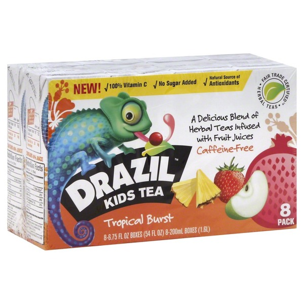 Drazil Tropical Burst Kids Tea