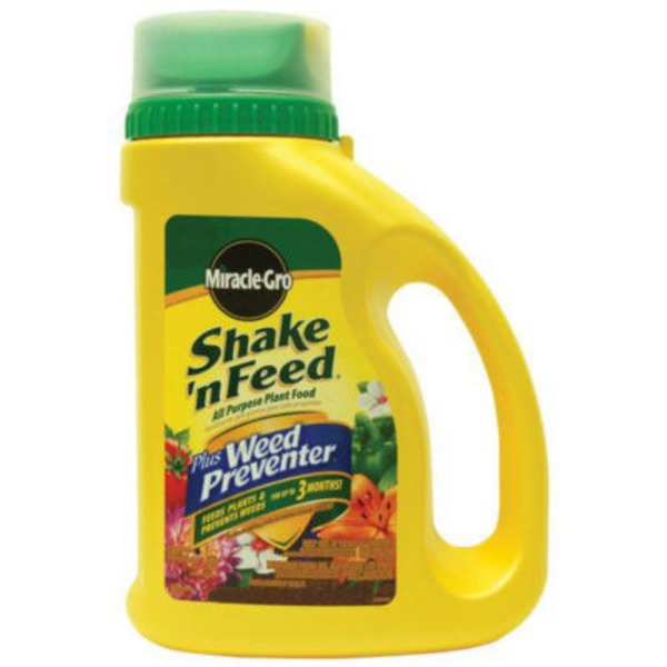 Miracle Gro Shake 'n Feed Plus Weed Preventer