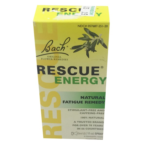 Bach Rescue Energy Natural Fatigue Remedy