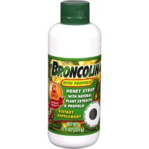 Broncolin Honey Syrup/Propolis/Natural Plant Extracts Dietary Supplement, 11.4 oz
