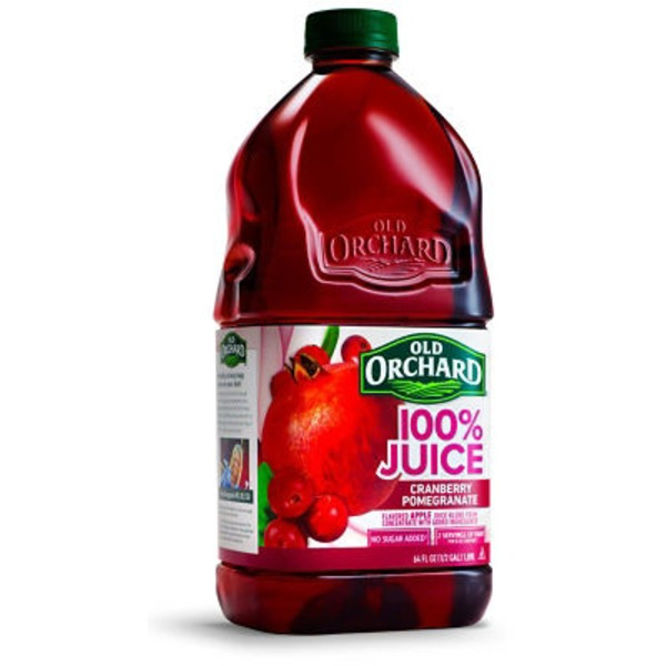 Old Orchard 100% Juice Cranberry Pomegranate